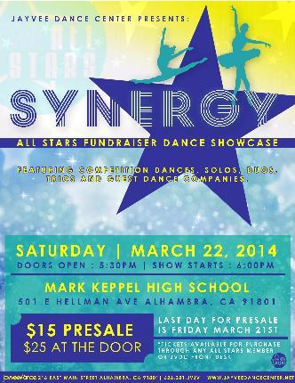 Synergy Dance Showcase 2014: Main Image