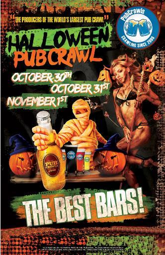 Halloween PubCrawl Houston: Main Image