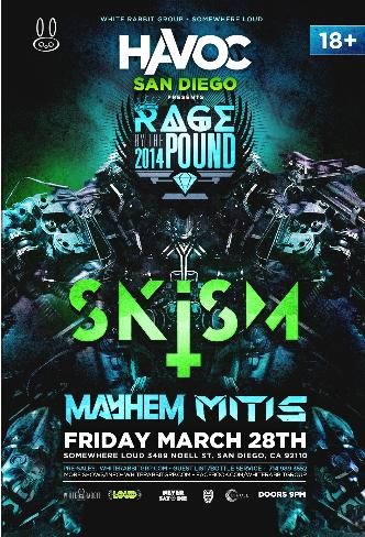 Rage by the Pound at Havoc SD: Main Image