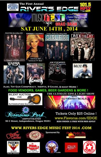 Rivers Edge Music Fest 2014: Main Image