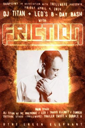 Titan + Led's Bday w/Friciton: Main Image