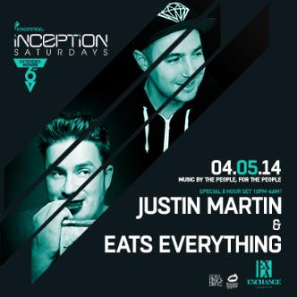 Justin Martin/ Eats Everything: Main Image