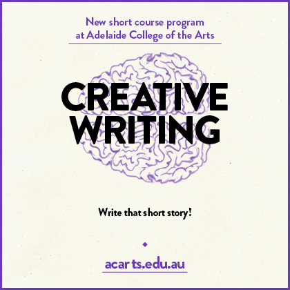 Creative writing adelaide
