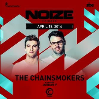 NOIZE FRIDAYS-THE CHAINSMOKERS: Main Image