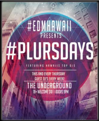 Plursdays @ The Underground: Main Image
