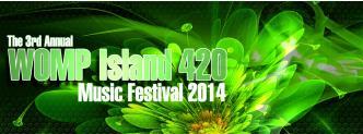 WOMP ISLAND 420 Music Festival: Main Image