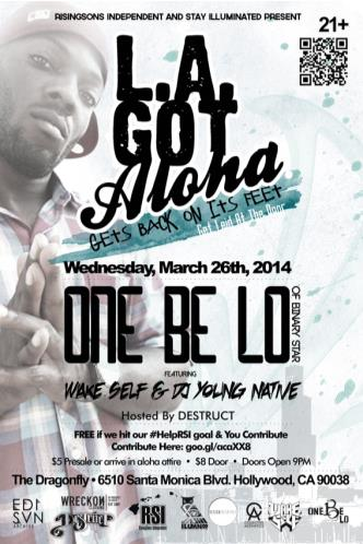 LA Got Aloha Feat. One Be Lo: Main Image