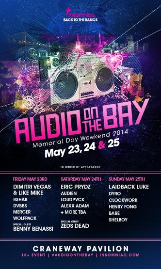 Audio on the Bay: Main Image