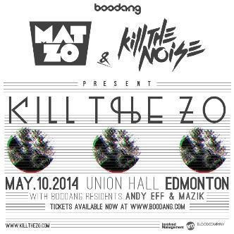 KILL THE ZO TOUR - YEG: Main Image