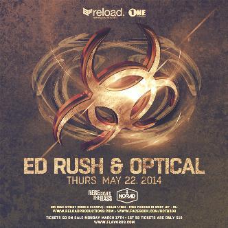 Ed Rush & Optical || Reload: Main Image