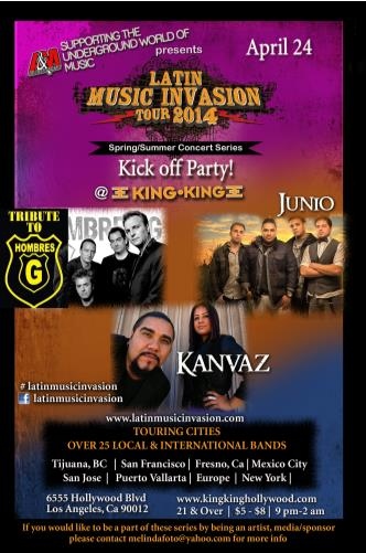 LATIN MUSIC INVASION KICK OFF: Main Image