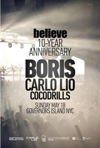 Believe 10 YR Anniversary: Main Image