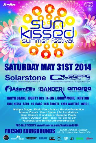 Sun Kissed Summer Festival 201: Main Image