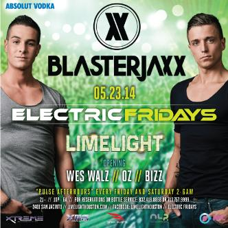 Blasterjaxx | Electric Fridays: Main Image