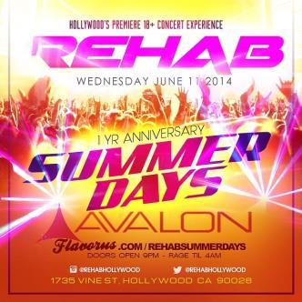Rehab Summer Days: Main Image
