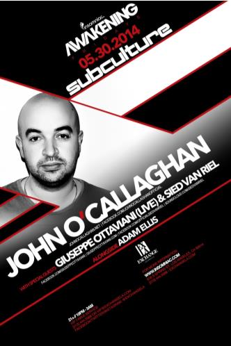 Subculture: John O' Callaghan: Main Image