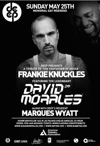 DEEP Pres DAVID MORALES: Main Image