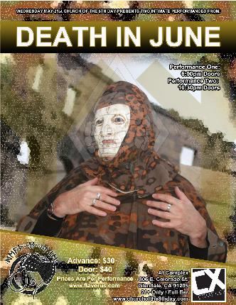 Death in June (early show): Main Image
