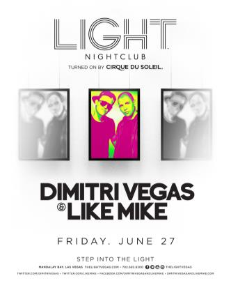 Dimitri Vegas & Like Mike: Main Image