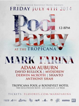MARK FARINA POOL PARTY TROP: Main Image
