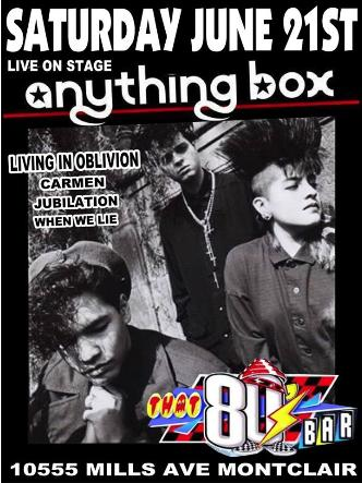 Anything Box -Live on Stage-: Main Image