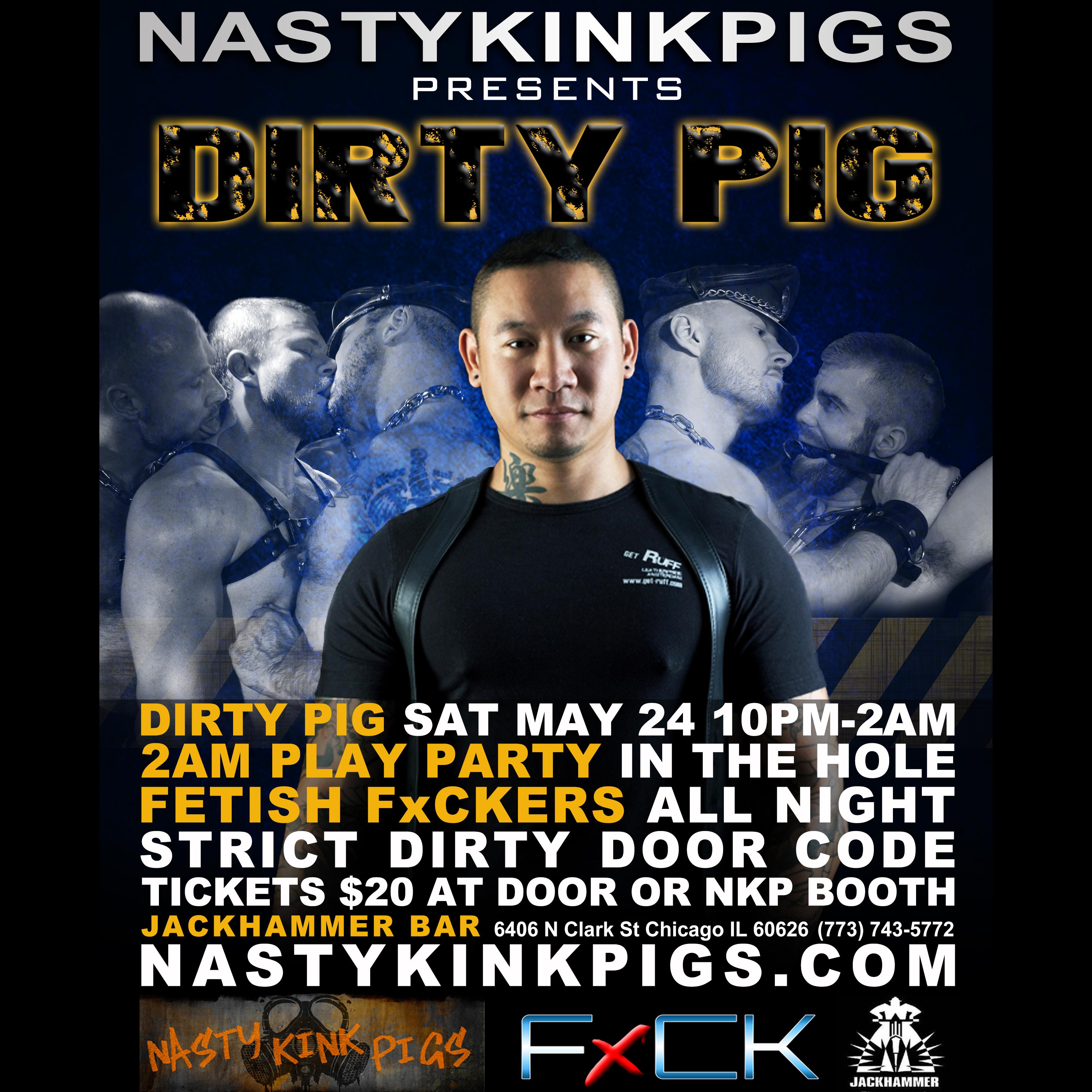 Nasty kink pig