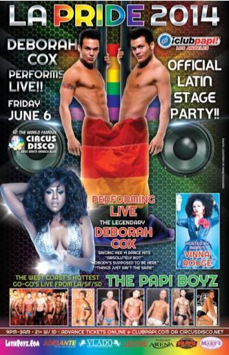 Club Papi: DEBORAH COX Live: Main Image