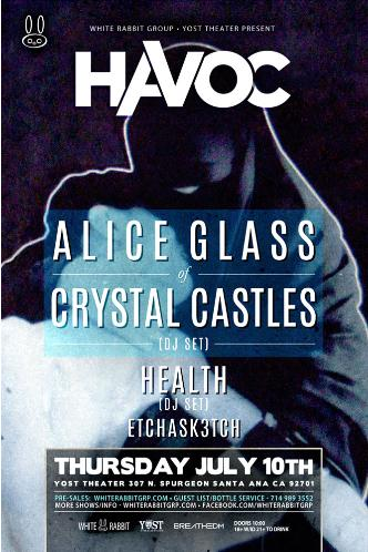 Alice Glass of Crystal Castles: Main Image