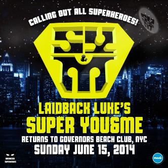 Laidback Luke - Super You&Me: Main Image