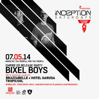 Inception ft. Bixel Boys: Main Image