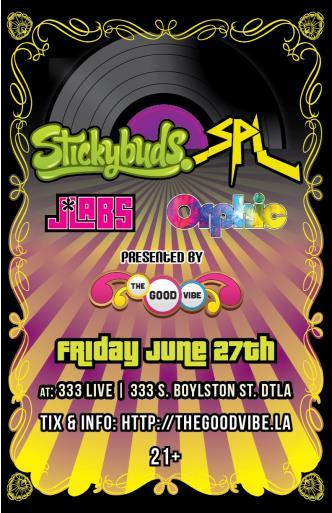 Stickybuds+SPL+J*Labs+Orphic: Main Image