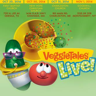 VEGGIETALES LIVE - ODESSA: Main Image