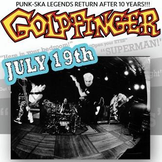 Goldfinger Live: Main Image