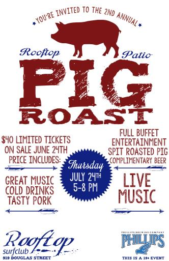 The 2nd Annual Pig Roast BBQ: Main Image