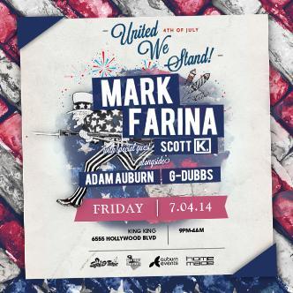 MARK FARINA - UNITED WE STAND: Main Image