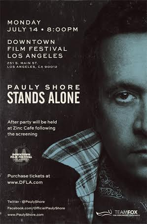 PAULY SHORE STANDS ALONE: Main Image