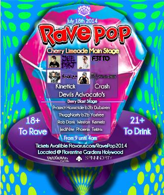 Rave Pop 2014: Main Image
