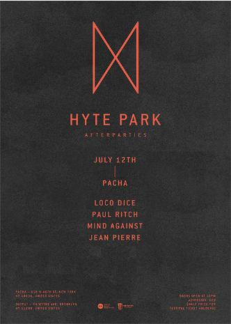 LOCO DICE: Hyte After Party: Main Image