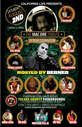 Mac Dre Day Hosted by Berner!: Main Image