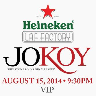 JOKOY VIP Tickets: Main Image
