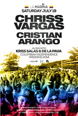 Chriss Vargas, Cristian Arango: Main Image
