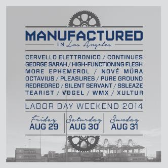 Manufactured in LA 3-Day Pass: Main Image