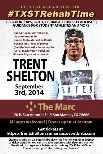 TRENT SHELTON | SAN MARCOS: Main Image
