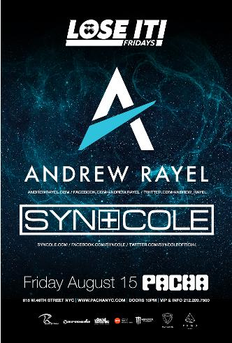 ANDREW RAYEL with SYN COLE: Main Image