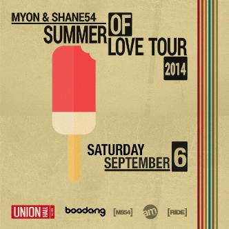 MYON & SHANE 54 SUMMER OF LOVE: Main Image