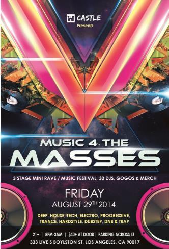 Music 4 The Masses: Main Image