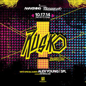 Rusko Fall Tour 2014: Main Image