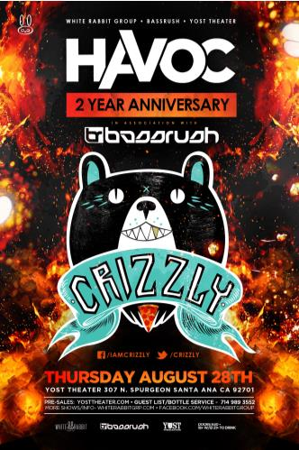 Havoc 2 year ft. Crizzly: Main Image
