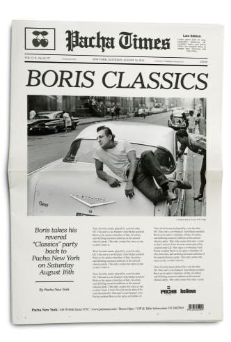 Boris Classics: Main Image