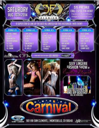THE RETURN OF CLUB CARNIVAL: Main Image